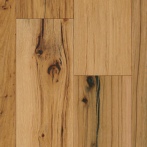 Hickory Natural 1/2-inch T x 7-1/2-inch W x Varying L Eng. Hardwood Flooring (25.73 sq.ft./ case)