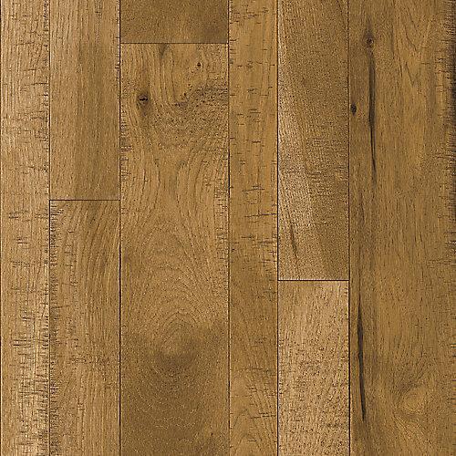 Plancher, bois massif, 3/4 po x largeur et longueurs variées, Caryer Warm Reflection, 24 pi2/boîte