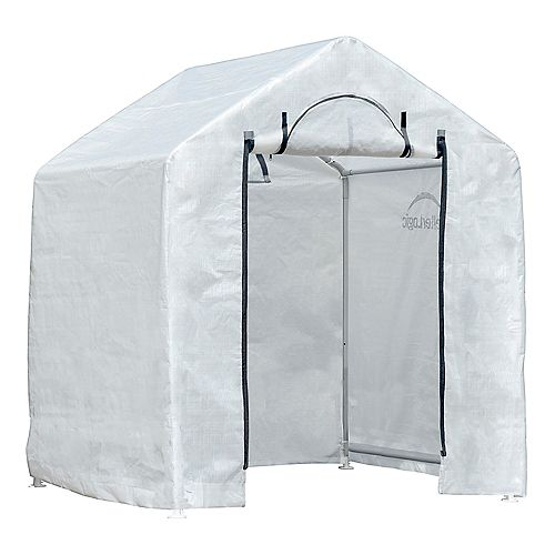GrowIT Backyard Greenhouse 6 x 4 x 6 ft. Translucent