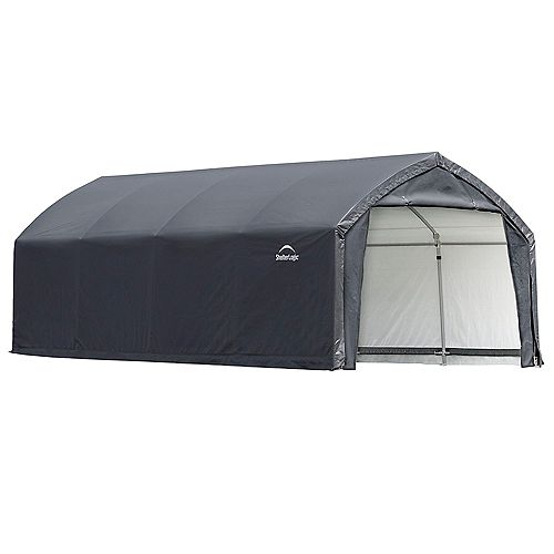 AccelaFrame HD 12 x 20 ft. Shelter Gray