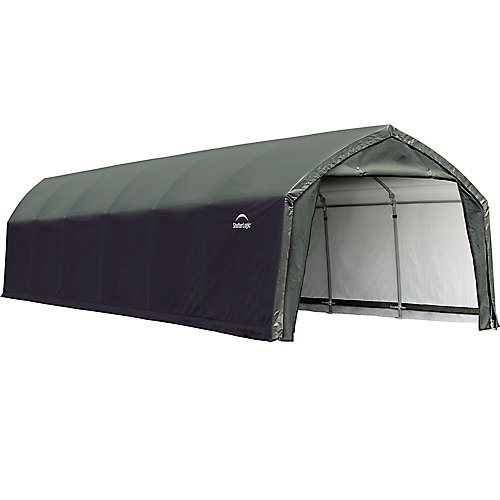 AccelaFrame HD 12 x 30 ft. Shelter Green