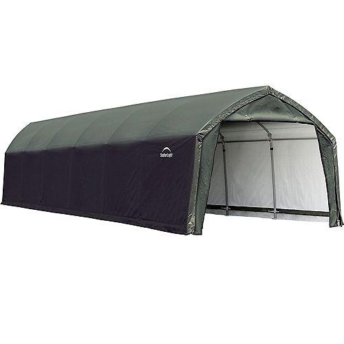 AccelaFrame HD 12 x 30 ft. Shelter Green