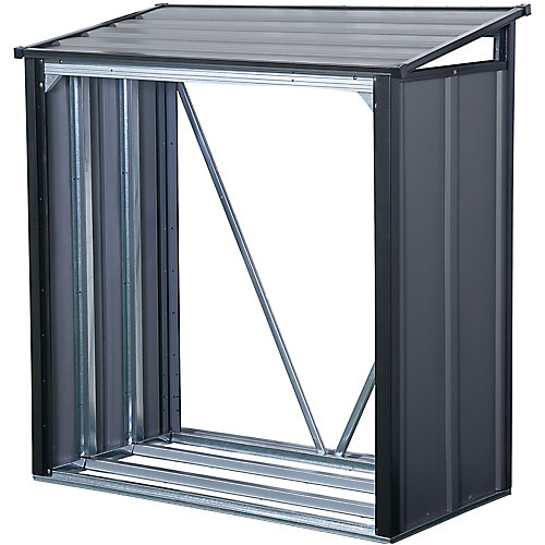 Porte-bûches Arrow de 4 x 2 pi Anthracite