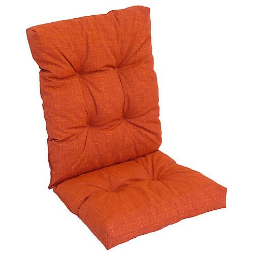 High Back Cushion red