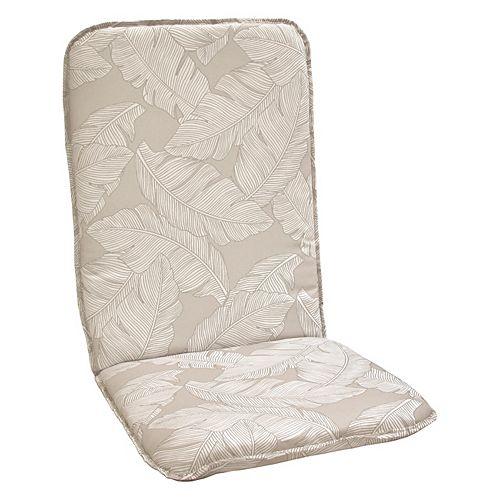 Highback Cushion beige floral