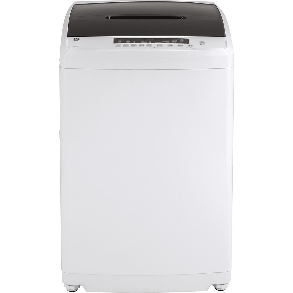 GE 3.3 (IEC) Cu. Ft. Capacity Portable Washer with Stainless Steel Basket in White