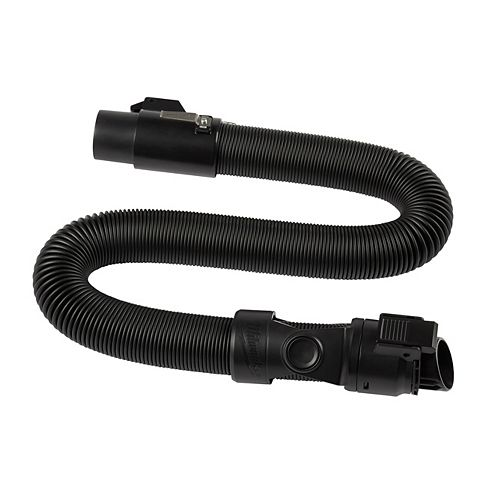 Milwaukee Tool 1-7/8-inch x 9 ft. Pro-Grade Vacuum Hose for M18 FUEL Backpack Vacuum