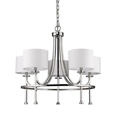 Acclaim Polished Nickel Chandeliers Crystal Sputnik Rustic More The Home Depot Canada
