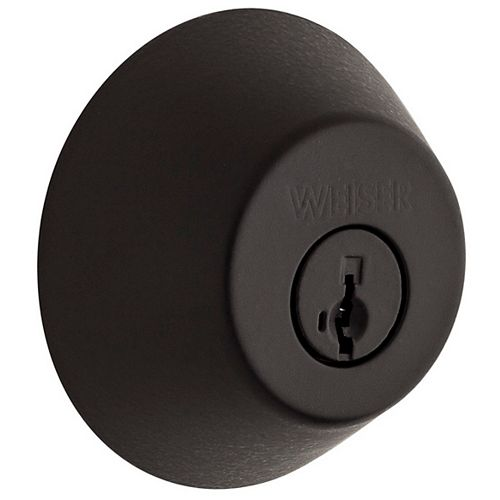 Welcome Home Deadbolt Black