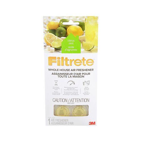 Filtrete Whole House Air Freshener WHAF-1-CZEF, Citrus Zest, 11.7 cm x 24.4 cm, 1/Pack