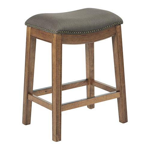 Austin 26-inch Counter Stool in Brown