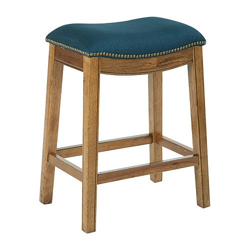 Austin 26-inch Counter Stool in Blue
