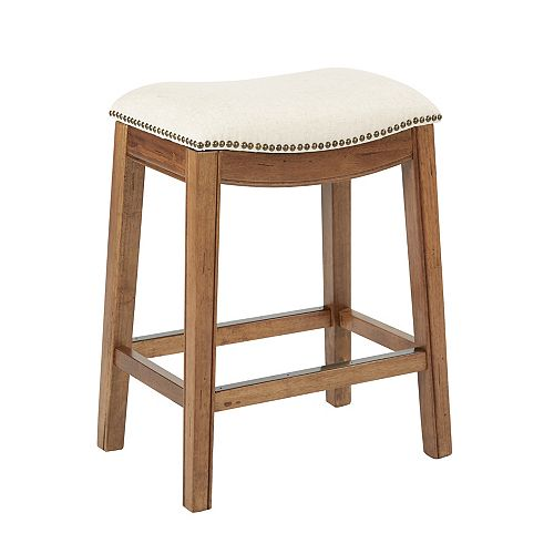 Austin 26-inch Counter Stool in White