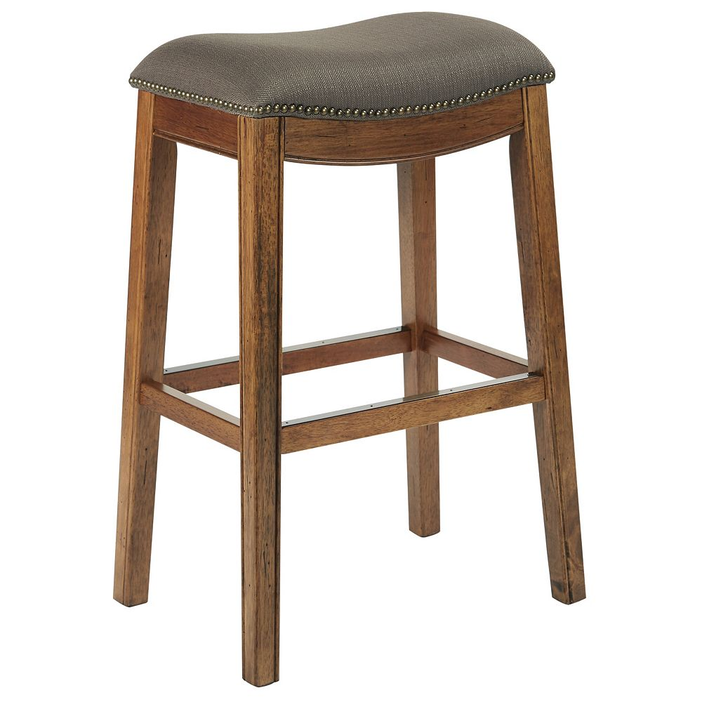 Ave Six Austin 31-inch Bar Stool in Brown