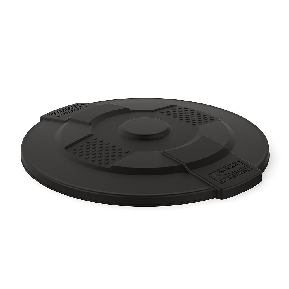Suncast 44 Gal. Commercial Utility Trash Can Lid
