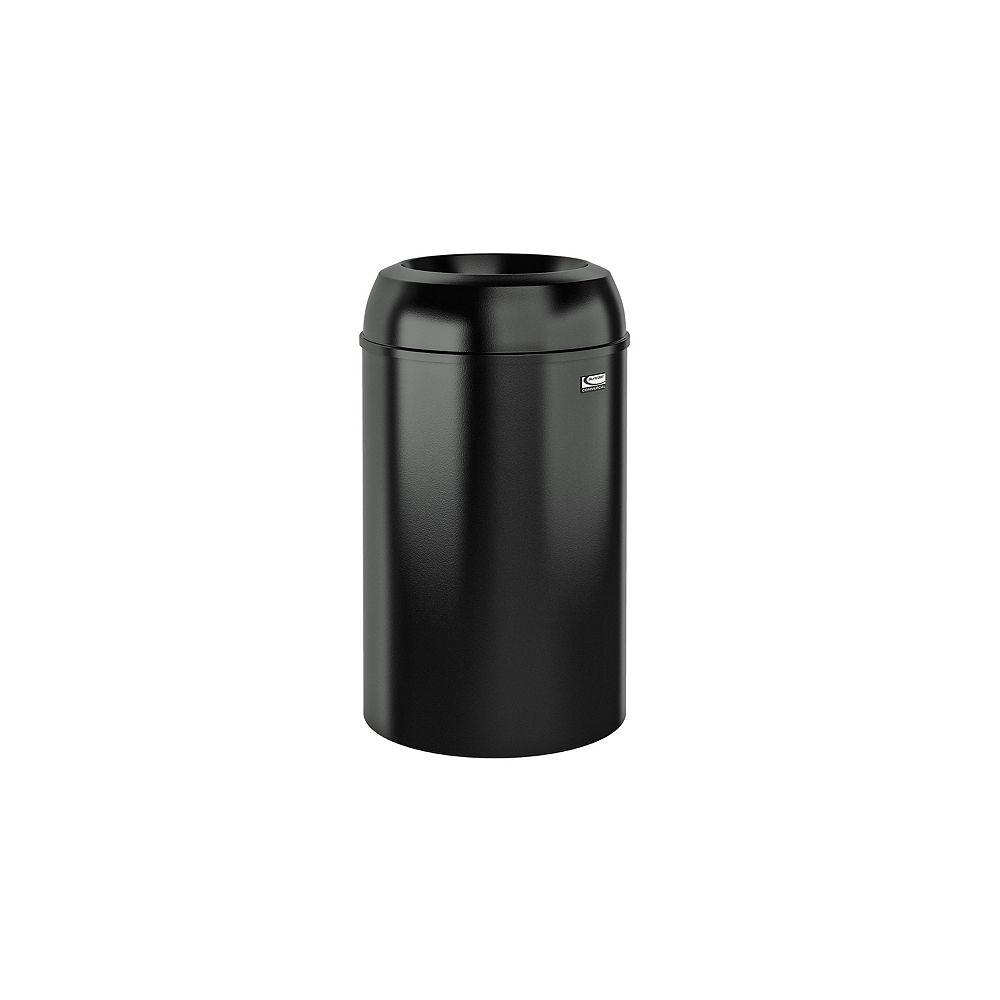 Suncast Poubelle d'intérieur de 30 gallons à ouverture automatique en métal