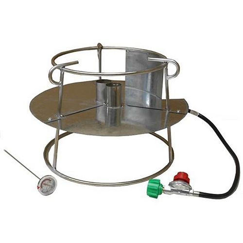 Stainless Steel Double Jet Propane Cooker
