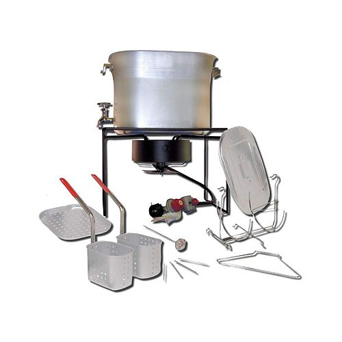 Multi-Purpose Portable Propane Outdoor Cooker Package