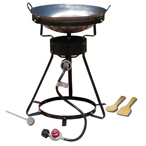 24-inch Propane Cooker with 18-inch Steel Wok