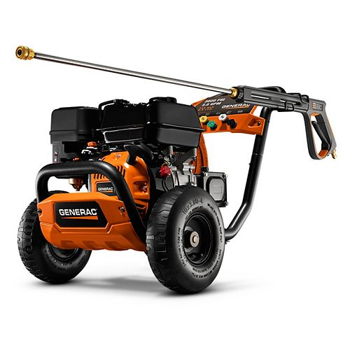 Generac 212cc OHV Engine Professional 3600 PSI Power Washer 49-State/CSA