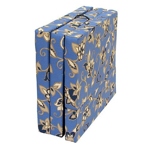Folding Mattress Blue Floral