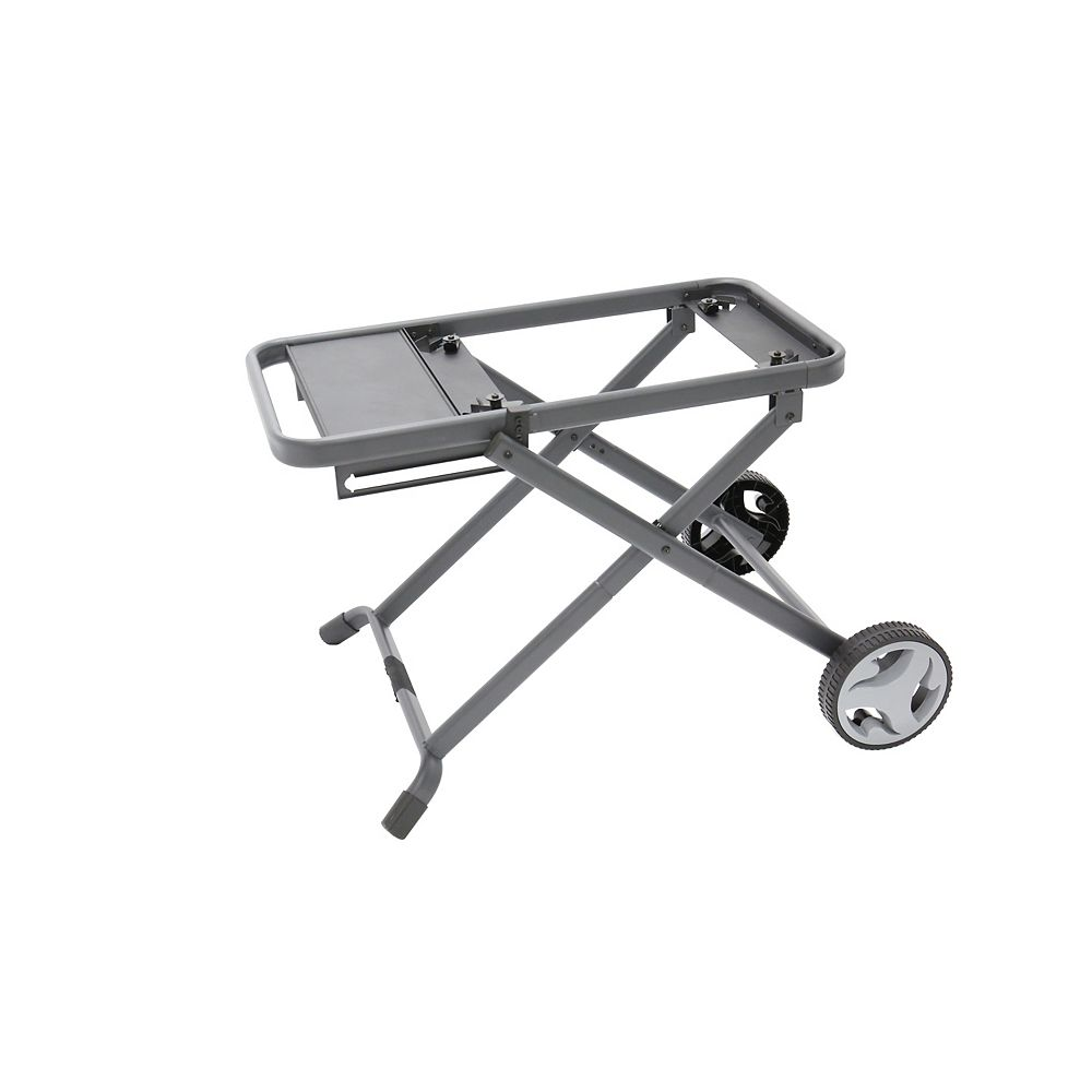 Pantera High Foldable Cart 24-inch Stand for BBQ with Wheels