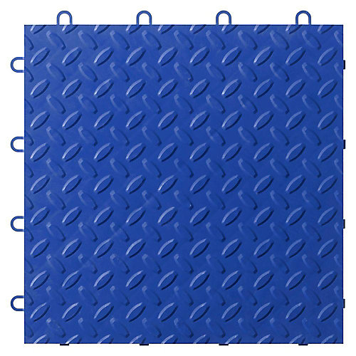 Blue Garage Floor Tile (24-Pack)