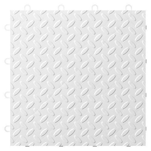 White Garage Floor Tile (24-Pack)