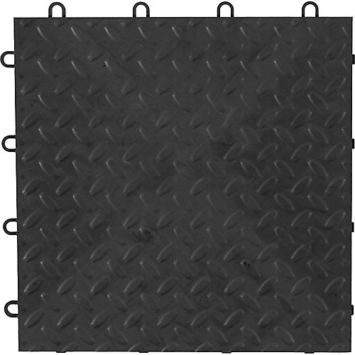 Charcoal Garage Floor Tile (48-Pack)
