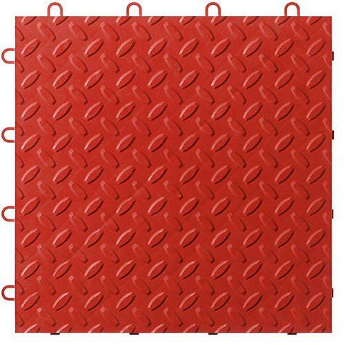 Red Garage Floor Tile (48-Pack)