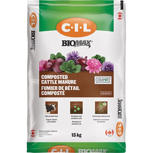 BIOMAX 16kg Composted Cattle Manure