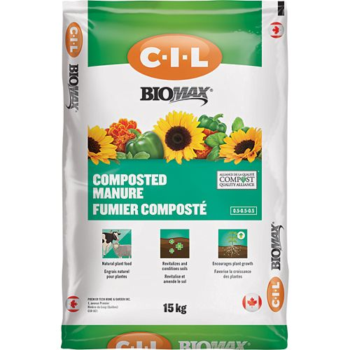 BIOMAX 15kg Composted Manure