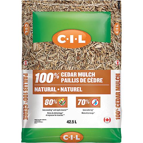 42.5L 100% Natural Cedar Mulch