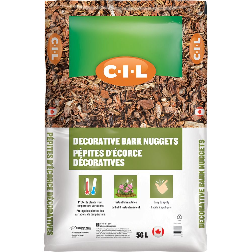 C-I-L 56L Decorative Bark Nuggets