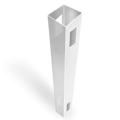 5X5X108 inch Line Post White