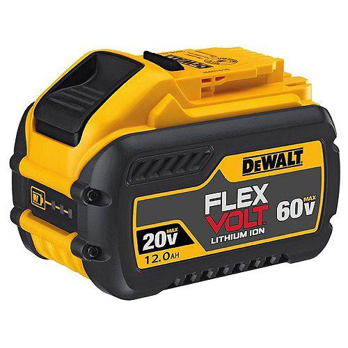 FLEXVOLT 20-Volt/60-Volt MAX 12.0 Ah Battery Pack