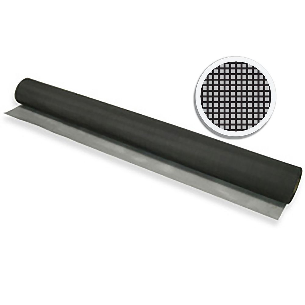 "Climaloc Black Fiberglass Screen 24"" X 100' (61 CM X 30.5 M)"