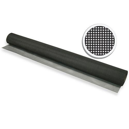 "Black Fiberglass Screen 30"" X 100' (76 CM X 30.5 M)"