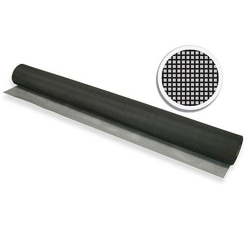 "Black Fiberglass Screen 36"" X 100' (91 CM X 30.5 M)"