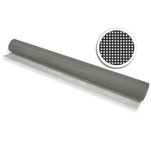"Easy Screen MOUSTIQUAIRE FIBRE DE VERRE GRIS 36"" X 100' (91 CM X 30.5 M)"