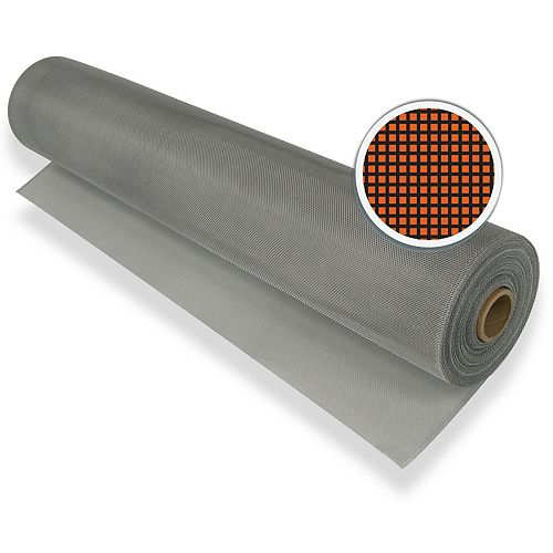 """Climaloc Silver Aluminum Screen 30"""" X 100' (76 CM X 30.5 M)"""