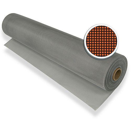"""Silver Aluminum Screen 36"""" X 100' (91 CM X 30.5 M)"""