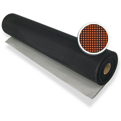 "Black Aluminum Screen 48"" X 100' (122 CM X 30.5 M)"