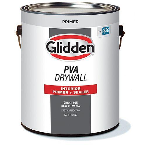 Cloison sèche PVA Apprêt-Scellant d'intérieur 3,78 L