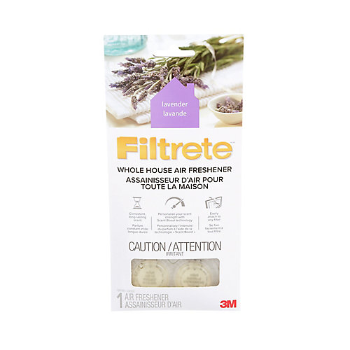 Filtrete Whole House Air Freshener WHAF-1-LA-EF, Lavender, 11.7 cm x 24.4 cm, 1/Pack