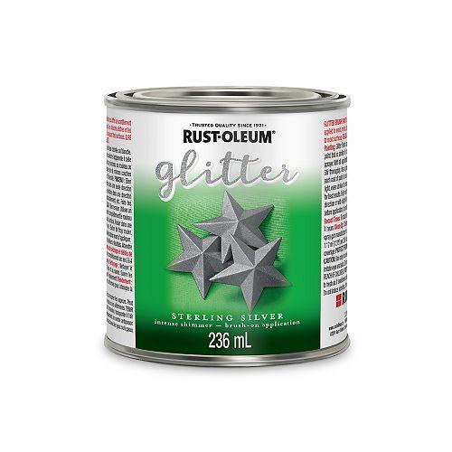 Rust-Oleum Glitter Brush Silver