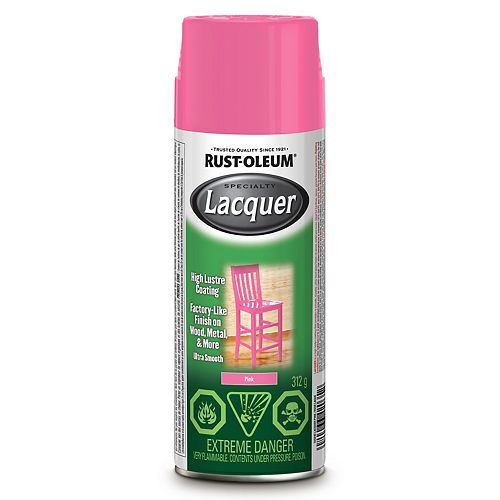 Specialty Fast-Curing Pink Lacquer 312g