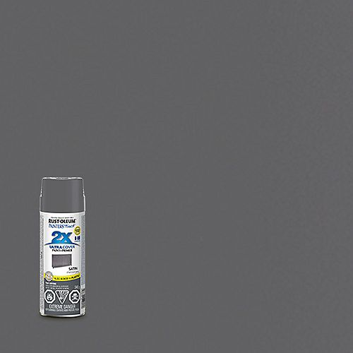 Rust-Oleum Painter's Touch 2X Peinture Multi Usages En Gris Anthracite Satiné - 340 G Aérosol