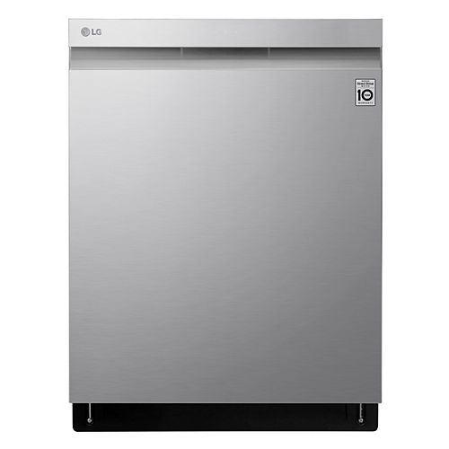 Top Control Smart Dishwasher with 3rd Rack and Wi-Fi in Smudge Resistant Stainless Steel with Stainless Steel Tub, 44 dBA - ENERGY STAR®