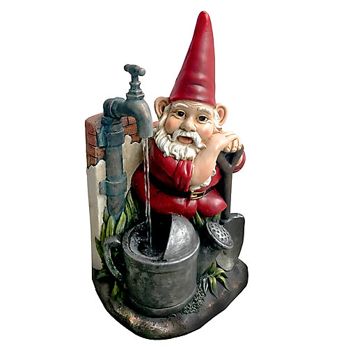 Gnome at Well Fountain